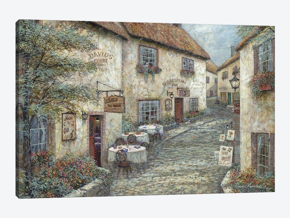 David's Court by Ruane Manning 1-piece Canvas Print