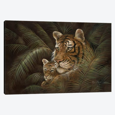 Endangered Love Canvas Print #RUA249} by Ruane Manning Canvas Artwork