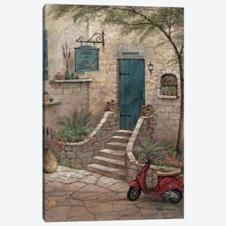 Estudio de Arte Canvas Print #RUA250} by Ruane Manning Canvas Print