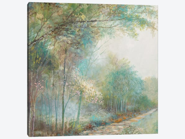 Forest Park Canvas Print #RUA255} by Ruane Manning Canvas Artwork