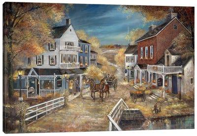 Harvest Village Canvas Art Print