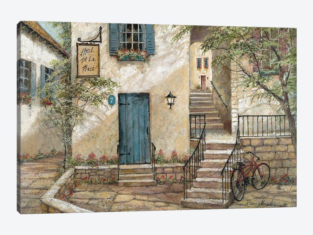Hotel de La Place by Ruane Manning 1-piece Canvas Art