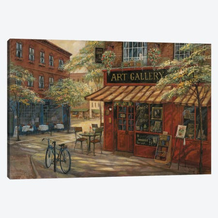 Doug's Art Gallery Canvas Print #RUA25} by Ruane Manning Canvas Artwork