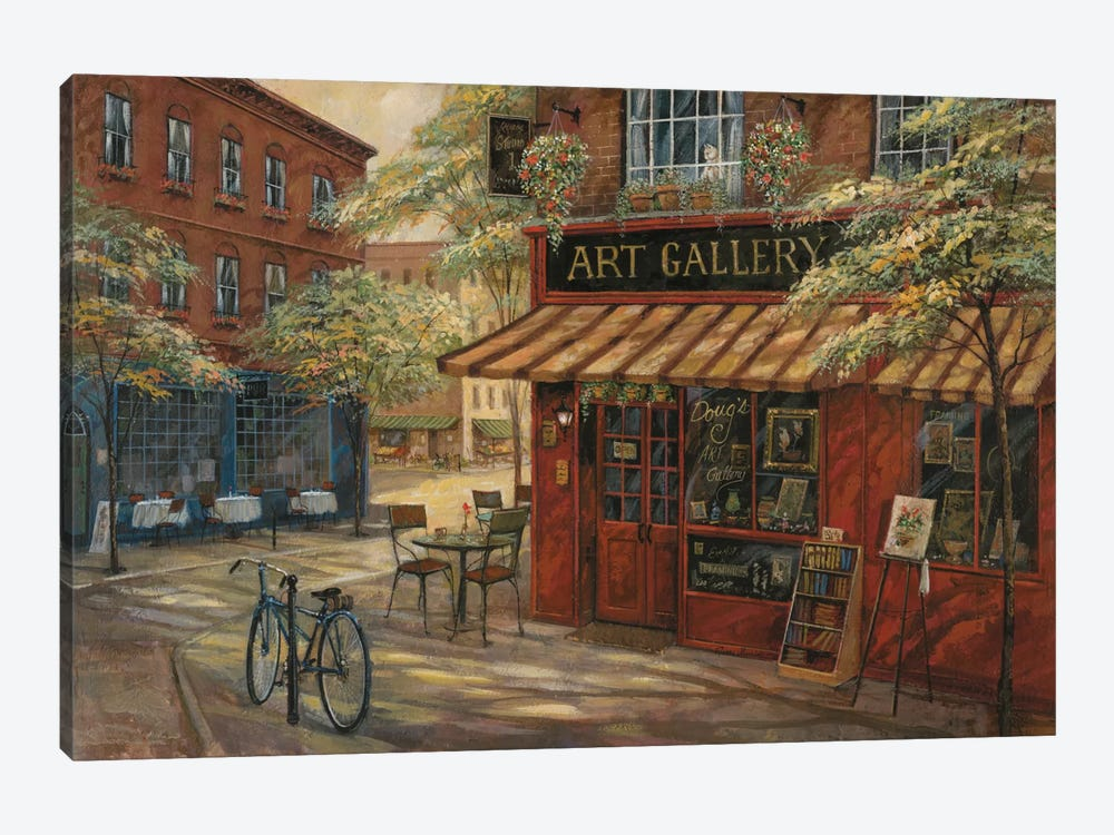 Doug's Art Gallery by Ruane Manning 1-piece Art Print