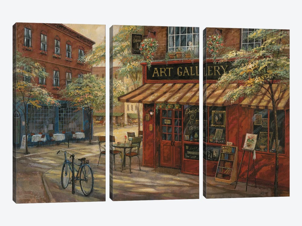 Doug's Art Gallery by Ruane Manning 3-piece Canvas Art Print