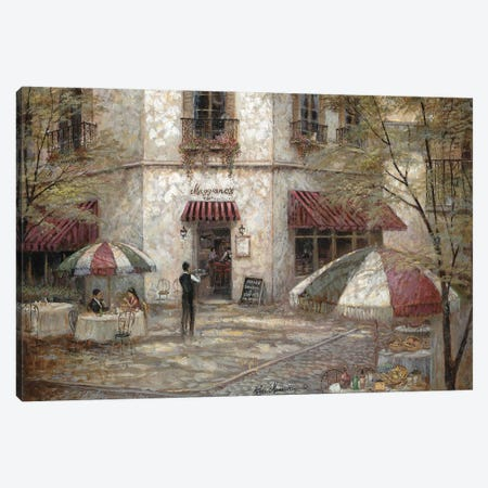 Maggiano's Canvas Print #RUA261} by Ruane Manning Canvas Wall Art