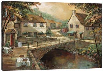 Michaels' Pub & Grill Canvas Art Print