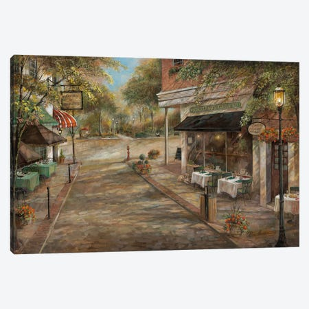 My Kinda Town Canvas Print #RUA266} by Ruane Manning Canvas Print