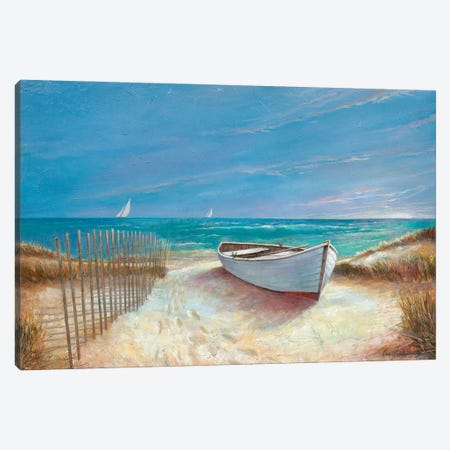 Ocean Breeze Canvas Print #RUA267} by Ruane Manning Canvas Art Print