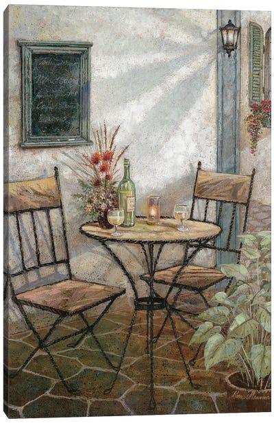 Ristorante Italiano Canvas Art Print