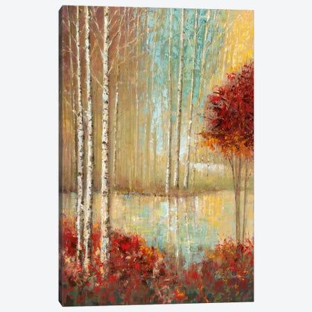 Emerald Pond Canvas Print #RUA27} by Ruane Manning Canvas Artwork