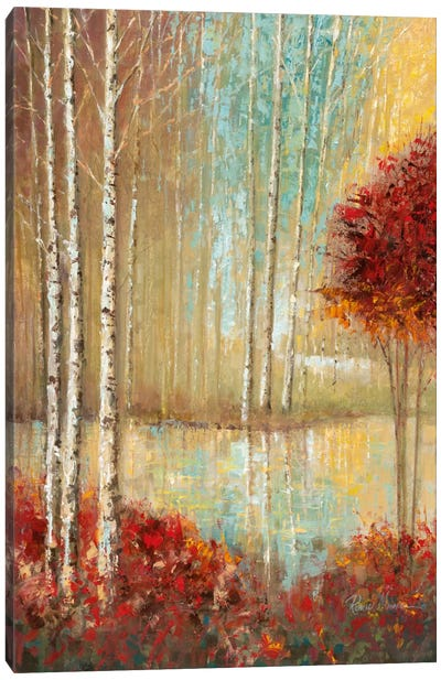 Emerald Pond Canvas Art Print