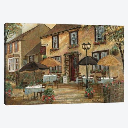 The Mobley Inn Canvas Print #RUA283} by Ruane Manning Canvas Art