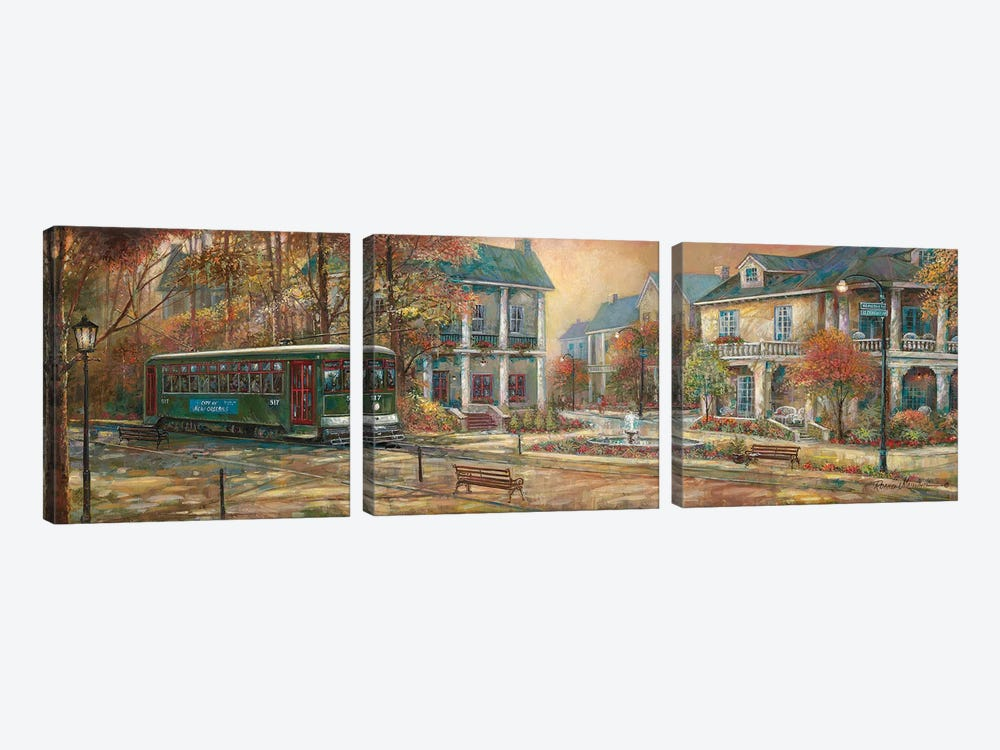 Timeless Elegance by Ruane Manning 3-piece Canvas Art