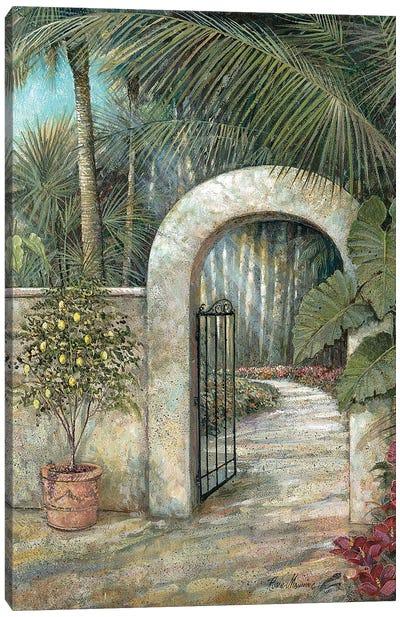 Tranquil Garden II Canvas Art Print