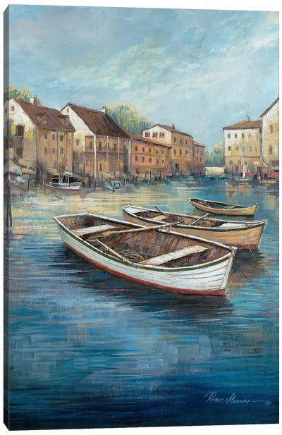 Tranquil Harbor I Canvas Art Print