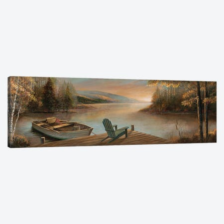 Tranquil Waters Canvas Print #RUA291} by Ruane Manning Canvas Print