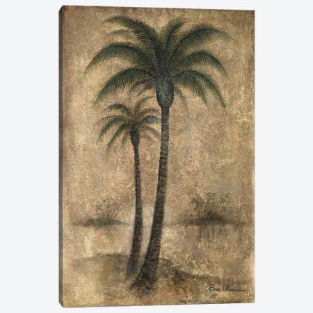 Whispering Palm I Canvas Print #RUA297} by Ruane Manning Canvas Artwork