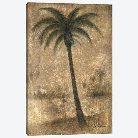 Whispering Palm II Canvas Print #RUA298} by Ruane Manning Art Print
