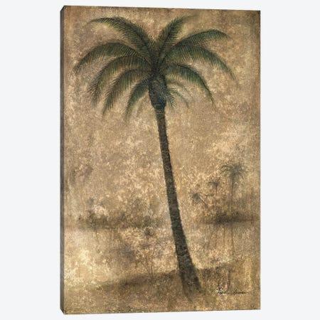 Whispering Palm II Canvas Print #RUA298} by Ruane Manning Art Print