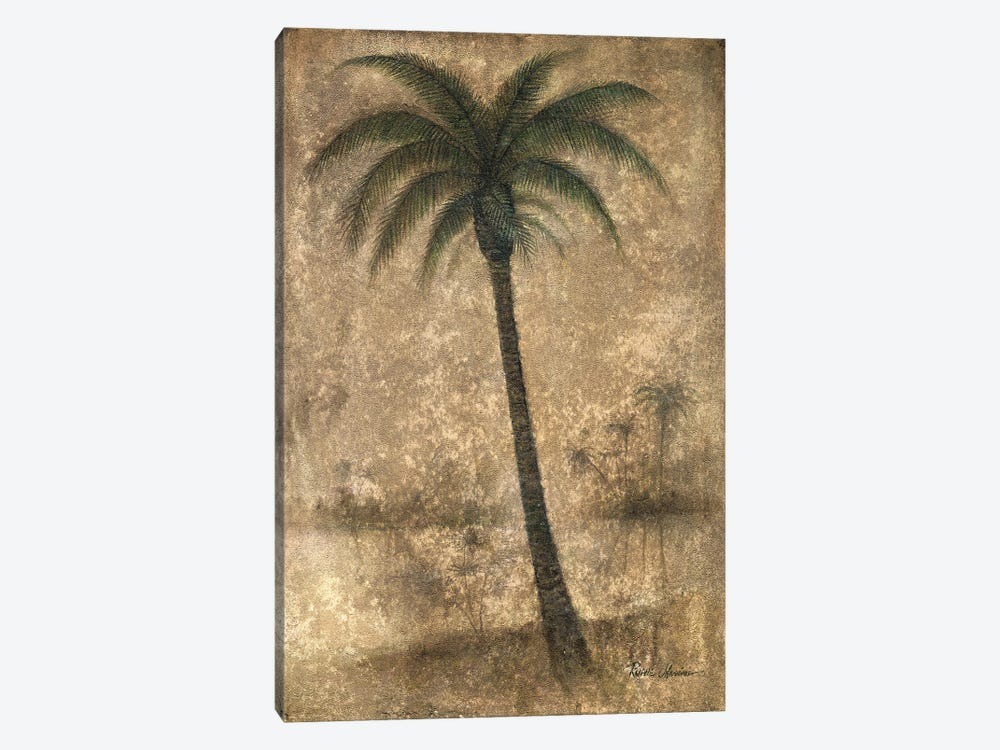Whispering Palm II by Ruane Manning 1-piece Canvas Artwork