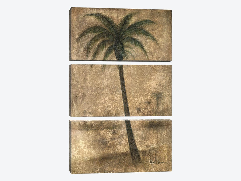 Whispering Palm II by Ruane Manning 3-piece Canvas Artwork