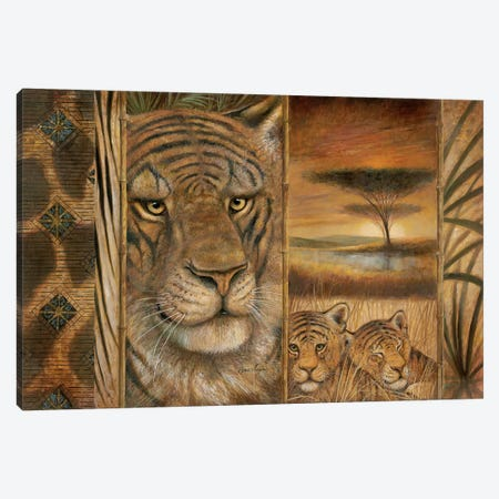 Wild & Beautiful Canvas Print #RUA299} by Ruane Manning Canvas Art Print