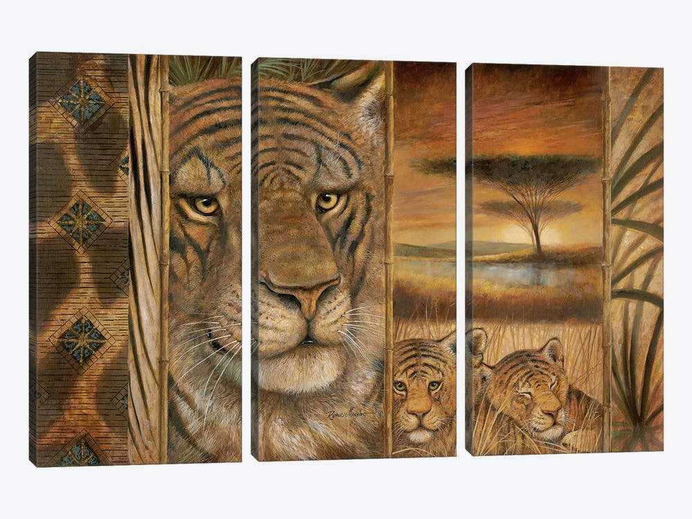Wild & Beautiful by Ruane Manning 3-piece Art Print