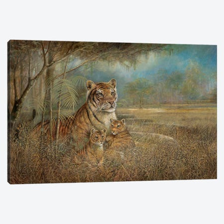 Wild and Beautiful Canvas Print #RUA300} by Ruane Manning Art Print