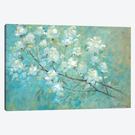 Wild Rose Blossom Canvas Print #RUA302} by Ruane Manning Canvas Print