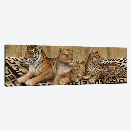 Wildlife Tapestry Canvas Print #RUA303} by Ruane Manning Canvas Print