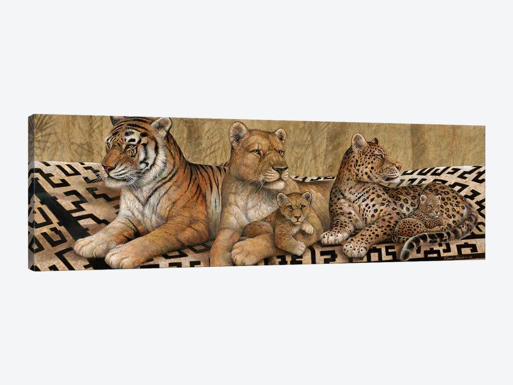 Wildlife Tapestry by Ruane Manning 1-piece Art Print
