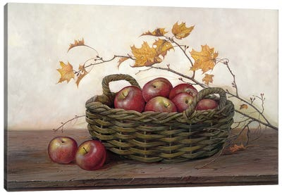 Winesap & Maples Canvas Art Print