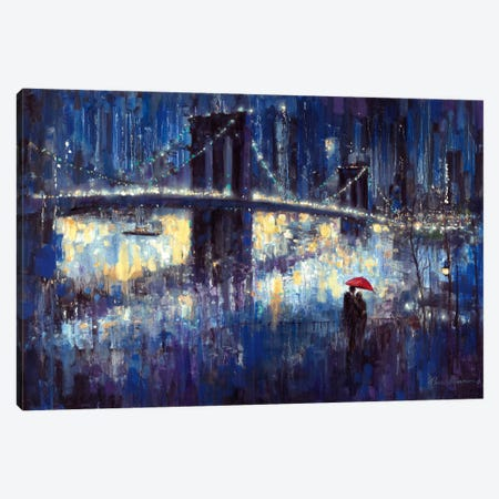 Evening Romance Canvas Print #RUA30} by Ruane Manning Canvas Wall Art