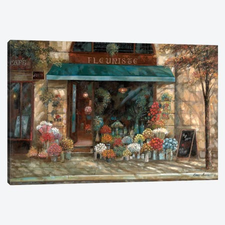Fleuriste Revisted Canvas Print #RUA34} by Ruane Manning Canvas Art Print