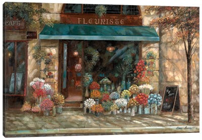 Fleuriste Revisted Canvas Art Print
