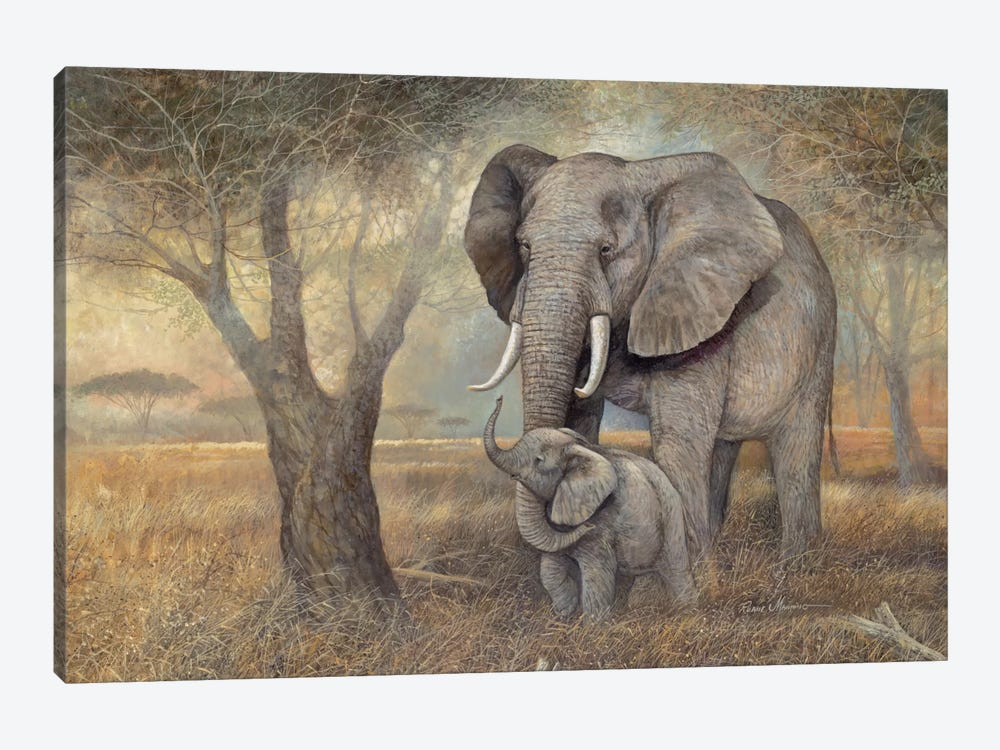 Gentle Touch by Ruane Manning 1-piece Canvas Print
