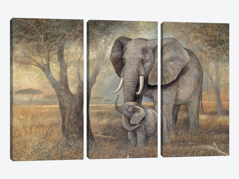 Gentle Touch by Ruane Manning 3-piece Art Print