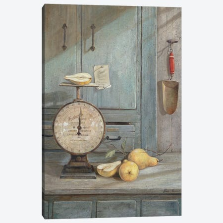 Gram's Recipe Canvas Print #RUA37} by Ruane Manning Art Print