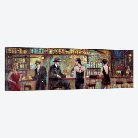 Happy Hour Canvas Print #RUA39} by Ruane Manning Canvas Wall Art