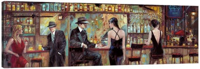 Happy Hour Canvas Art Print
