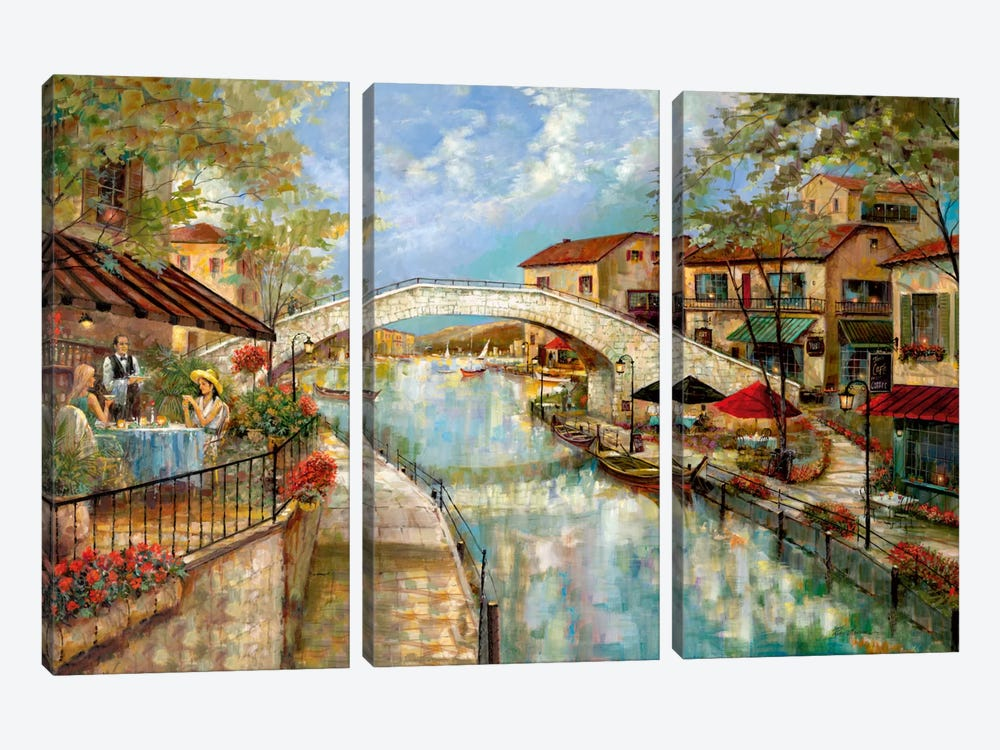 A Day To Reminisce by Ruane Manning 3-piece Canvas Artwork