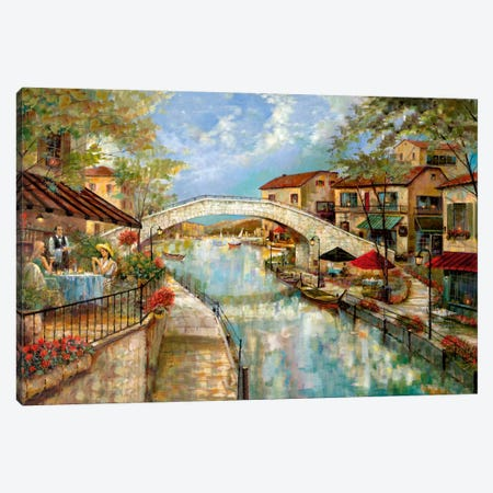 A Day To Reminisce Canvas Print #RUA3} by Ruane Manning Canvas Print