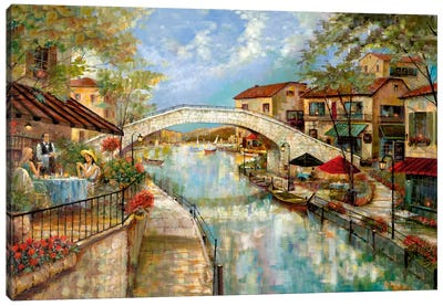 A Day To Reminisce Canvas Art Print