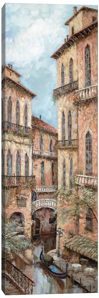 Holiday In Venice II Canvas Print #RUA41