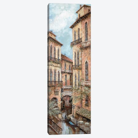 Holiday In Venice II 3-Piece Canvas #RUA41} by Ruane Manning Canvas Print