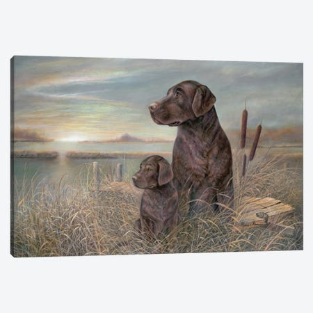 Inherited Loyalty Canvas Print #RUA42} by Ruane Manning Canvas Art Print