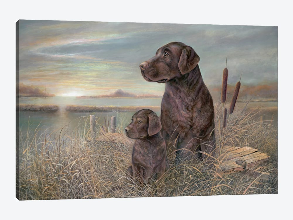Inherited Loyalty by Ruane Manning 1-piece Canvas Wall Art