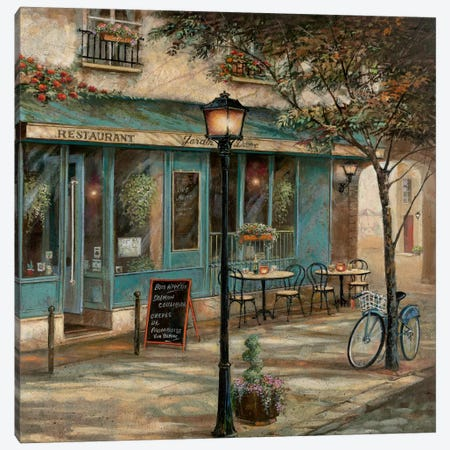 Jardin Notre Dame II Canvas Print #RUA43} by Ruane Manning Canvas Print