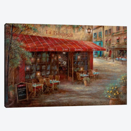 La Bodega Canvas Print #RUA44} by Ruane Manning Canvas Art